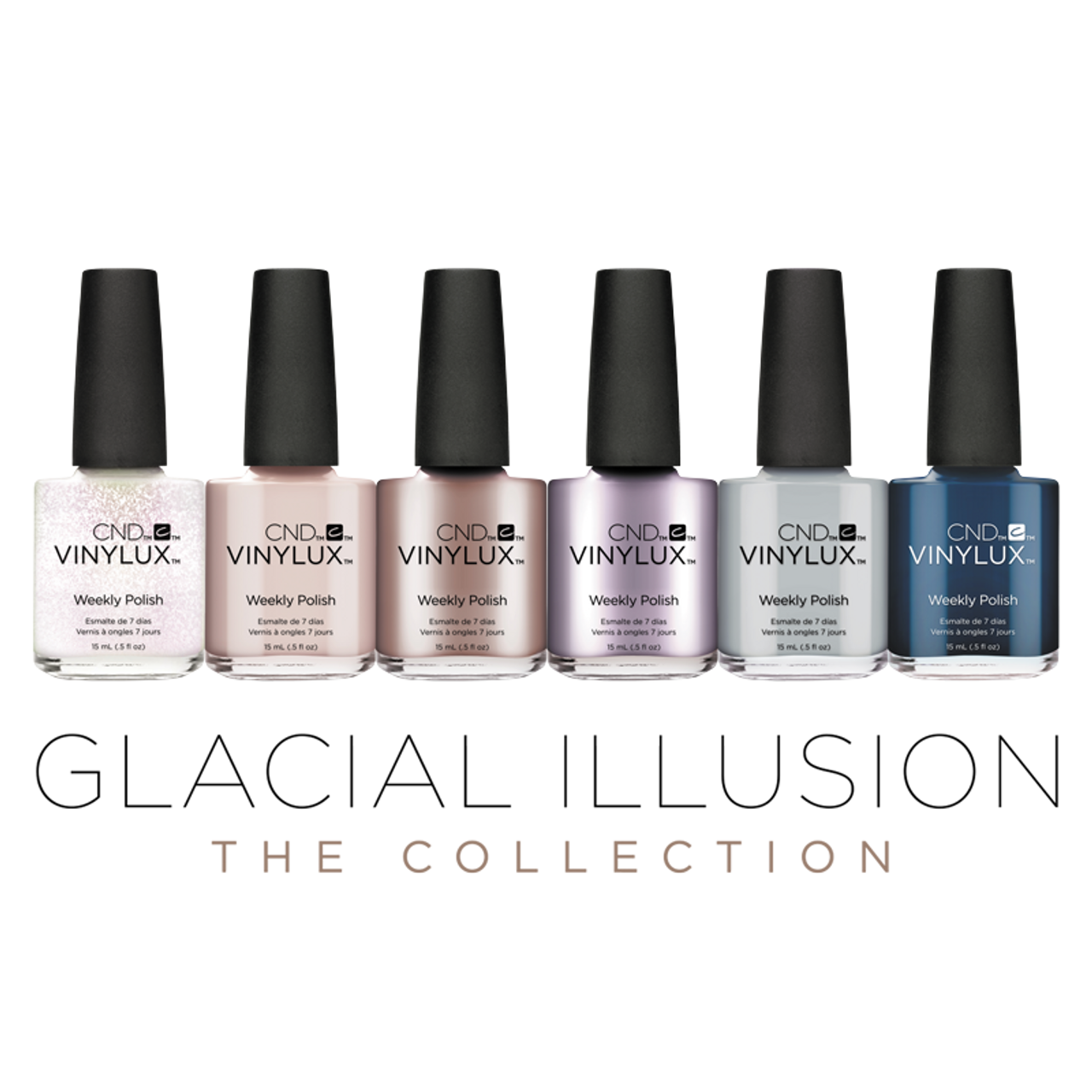 CND Vinylux Glacial Illusion Collection - MAX Beauty Source
