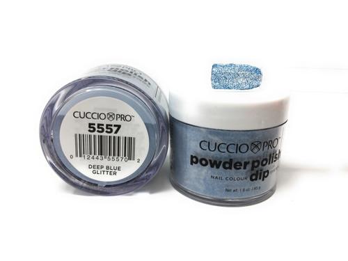 5557 Deep Blue Glitter