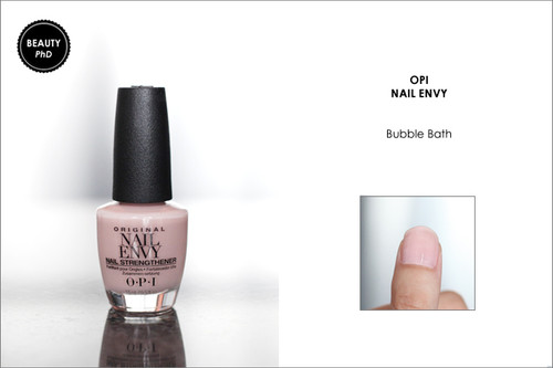 OPI NAIL ENVY | NAIL STRENGTHENER COLOR | BUBBLE BATH .5 OUNCE