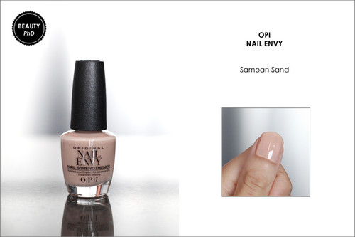 OPI NAIL ENVY | NAIL STRENGTHENER COLOR | SAMOAN SAND .5 OUNCE