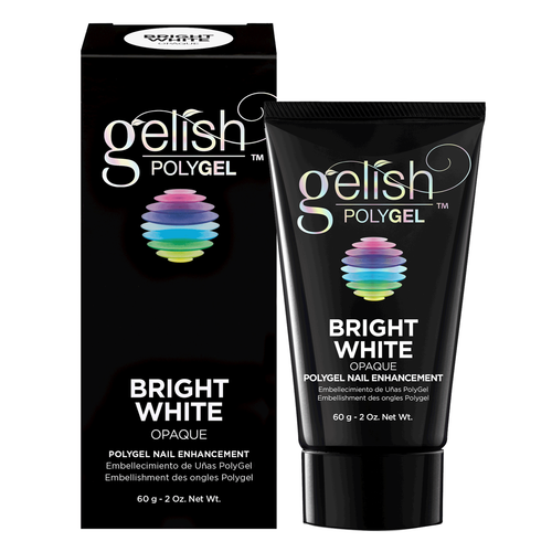 Bright White: Polygel Nail Enhancement 60 g - 2 Oz.