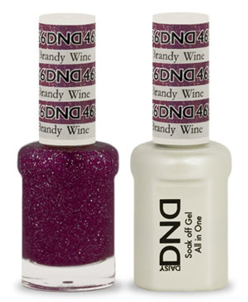 DND SOAK OFF GEL POLISH DUO | Brandy Wine 466 |