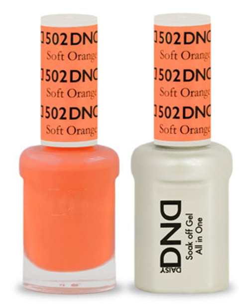 Dnd Soak Off Gel Polish Duo Soft Orange 502 Max Beauty Source