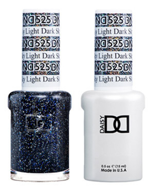 DND SOAK OFF GEL POLISH DUO | Dark Sky Light 525 |