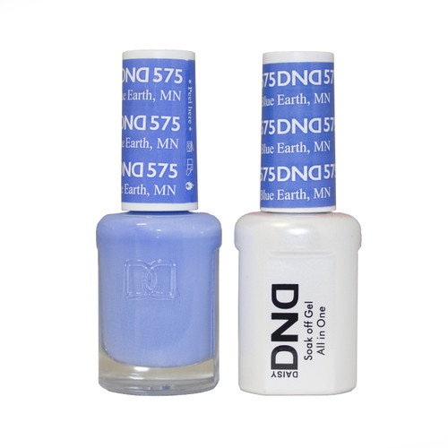 DND SOAK OFF GEL POLISH DUO | Blue Earth, MN 575 |