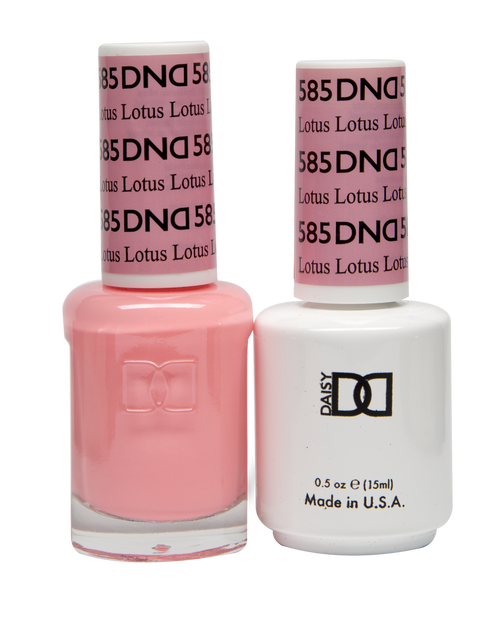 DND SOAK OFF GEL POLISH DUO DIVA COLLECTION | Lotus, 585 |