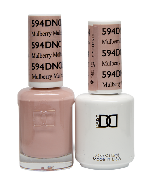 DND SOAK OFF GEL POLISH DUO DIVA COLLECTION   Mulberry, 594  