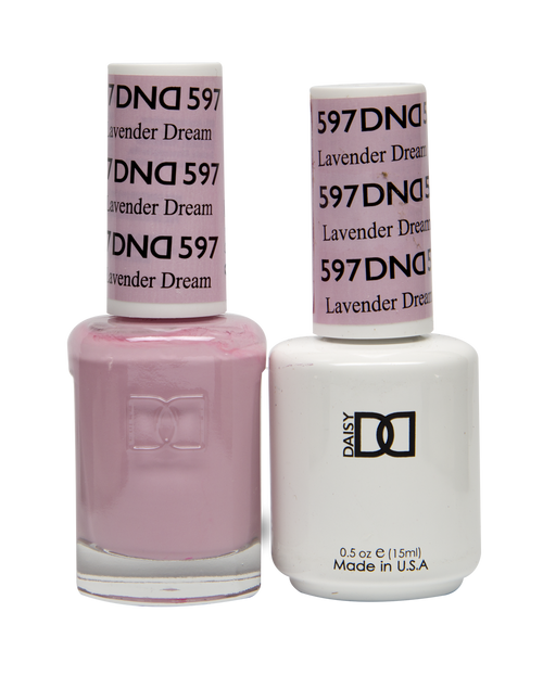 DND SOAK OFF GEL POLISH DUO DIVA COLLECTION | Melody, 598 |