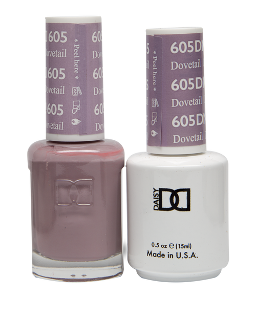 DND SOAK OFF GEL POLISH DUO DIVA COLLECTION   Dovetail, 605  