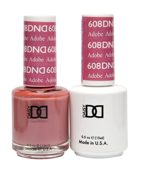 DND SOAK OFF GEL POLISH DUO DIVA COLLECTION | Adobe, 608 |