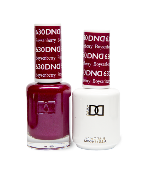 DND SOAK OFF GEL POLISH DUO DIVA COLLECTION | Boysenberry, 630 |