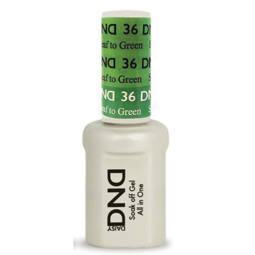 DND SOAK OFF GEL MOOD CHANGE | Spring Leaf To Green 36 |