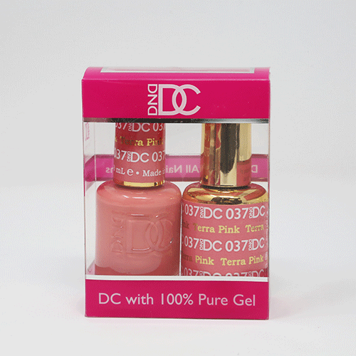 DND DC DUO SOAK OFF GEL AND LACQUER | 037 Terra Pink |