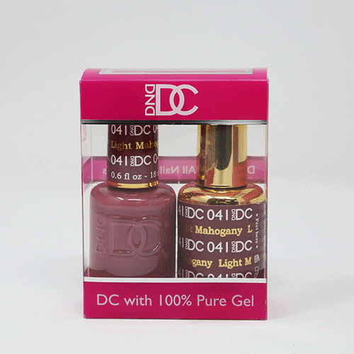 DND DC DUO SOAK OFF GEL AND LACQUER | 041 Light Mahogany |
