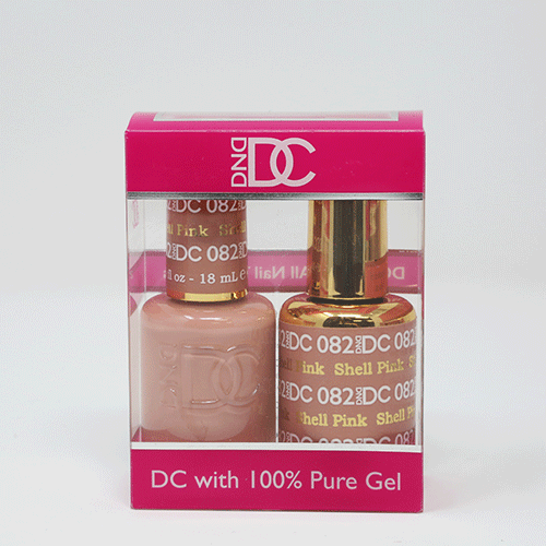 DND DC DUO SOAK OFF GEL AND LACQUER | 082 Shell Pink |