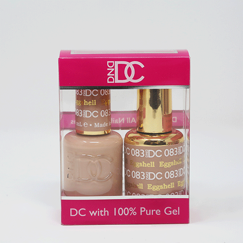 DND DC DUO SOAK OFF GEL AND LACQUER | 083 Eggshell |