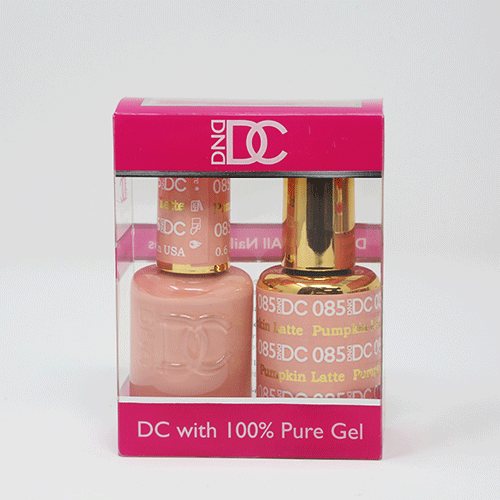 DND DC DUO SOAK OFF GEL AND LACQUER | 085 Pumpkin Latte |