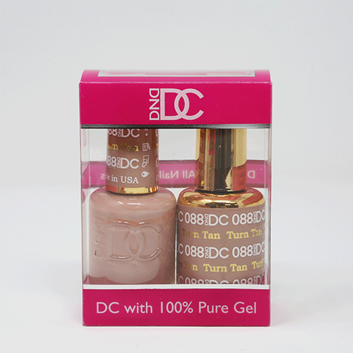 DND DC DUO SOAK OFF GEL AND LACQUER | 088 Turf Tan |