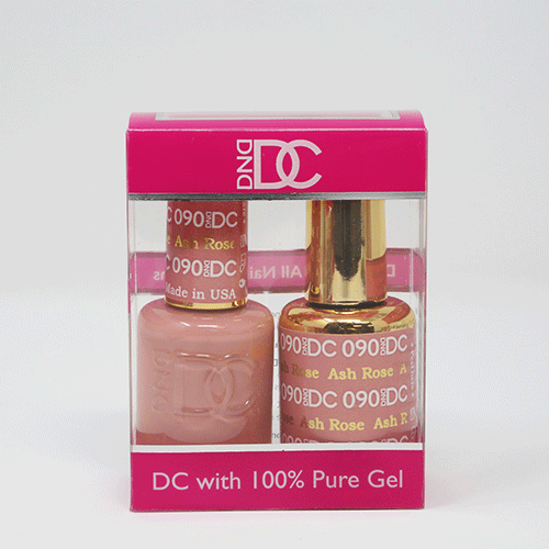 DND DC DUO SOAK OFF GEL AND LACQUER | 090 Ash Rose |