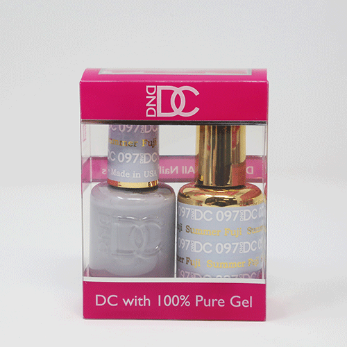 DND DC DUO SOAK OFF GEL AND LACQUER | 097 Summer Fuji |