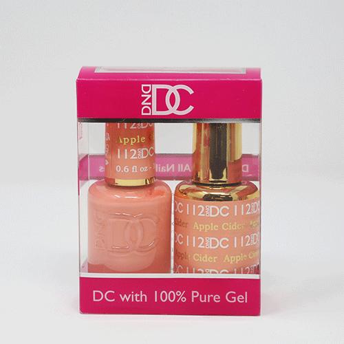 DND DC DUO SOAK OFF GEL AND LACQUER | 112 Apple Cider |