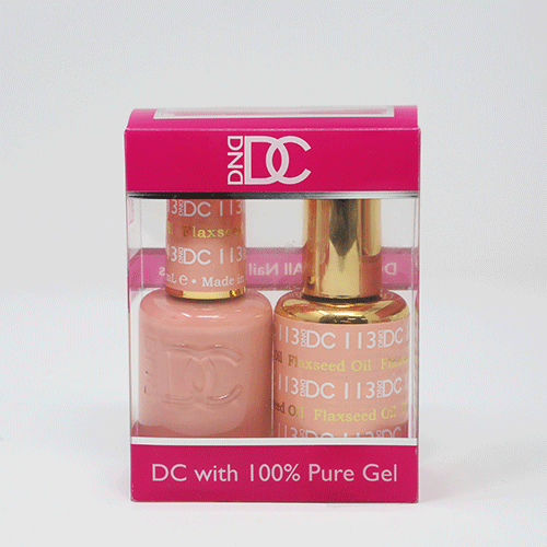 DND DC DUO SOAK OFF GEL AND LACQUER | 113 Flaxseed Oil |