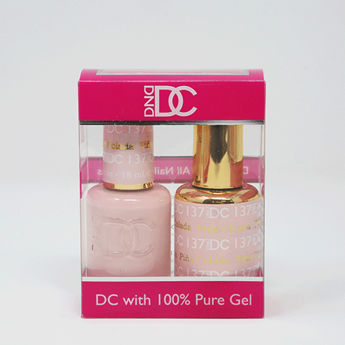 DND DC DUO SOAK OFF GEL AND LACQUER | 137 Pina Colada |
