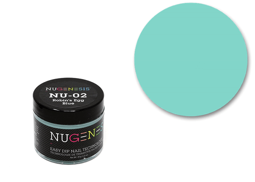 Nugenesis Easy Nail Dip Classic Collection | NU 02 Robin's Egg Blue |