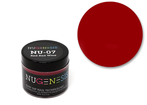 Nugenesis Easy Nail Dip Classic Collection | NU 07 Red Red Wine |
