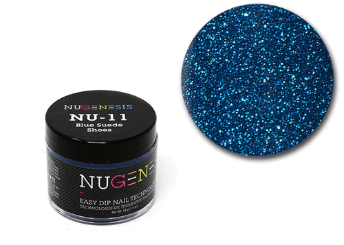 Nugenesis Easy Nail Dip Classic Collection | NU 11 Blue Suede Shoes |