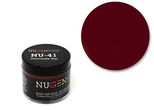 Nugenesis Easy Nail Dip Classic Collection | NU 41 Chocolate Dip |