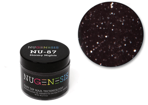 Nugenesis Easy Nail Dip Classic Collection   NU 87 Stormy Nights  