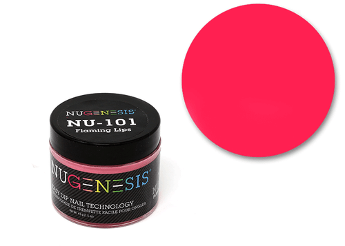 Nugenesis Easy Nail Dip Classic Collection | NU 101 Flaming Lips |