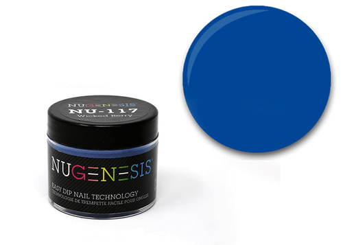 Nugenesis Easy Nail Dip Classic Collection | NU 117 Wicked Berry |