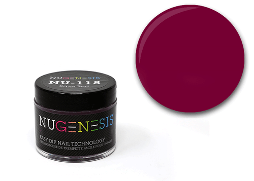 Nugenesis Easy Nail Dip Classic Collection | NU 118 Rave Red |