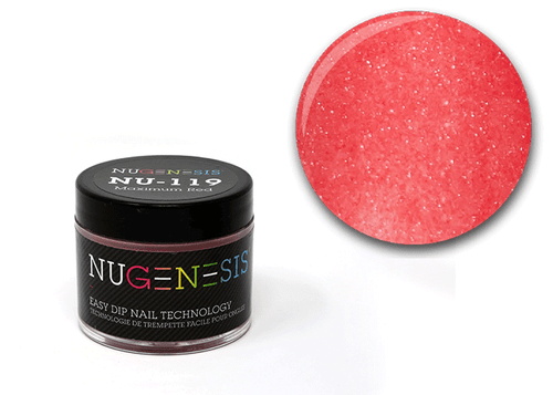 Nugenesis Easy Nail Dip Classic Collection | NU 119 Maximum Red |