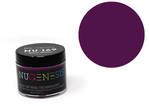 Nugenesis Easy Nail Dip Classic Collection | NU 169 Neon Green |