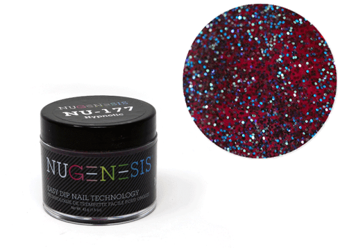 Nugenesis Easy Nail Dip Classic Collection   NU 177 Hypnotic  
