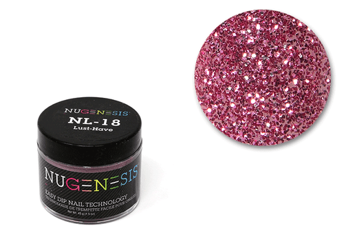 Nugenesis Easy Nail Dip Sparkle Collection | NL 18 Lust Have |