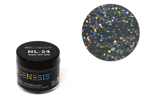 Nugenesis Easy Nail Dip Sparkle Collection | NL 24 Dare We Say |