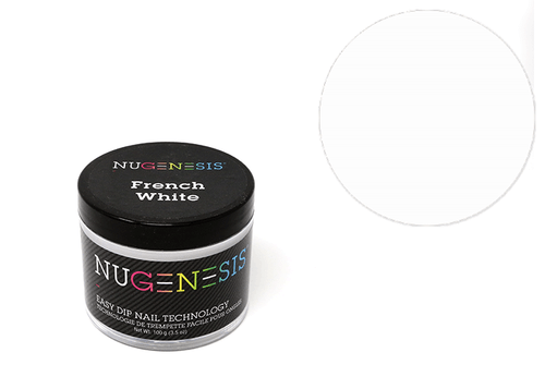 Nugenesis Easy Nail Dip French Collection | French White 4oz |