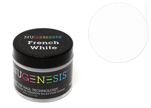 Nugenesis Easy Nail Dip French Collection | French White 2oz |
