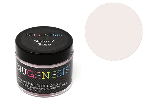 Nugenesis Easy Nail Dip French Collection | Natural Base 2oz |