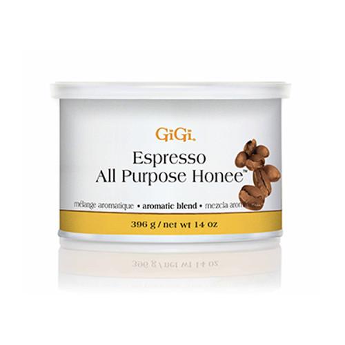 GIGI | ESPRESSO ALL PURPOSE HONEE WAX | 14 OUNCES