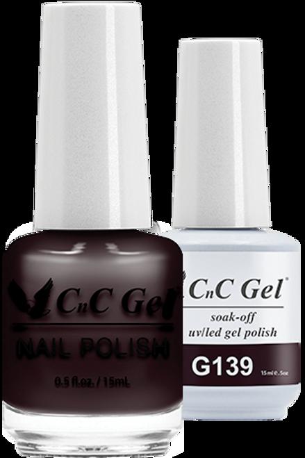 CnC Duo Soak Off | G139 |