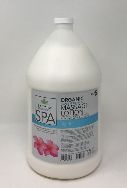 Organic Healing Therapy Massage Lotion | 1 Gal | No. 5