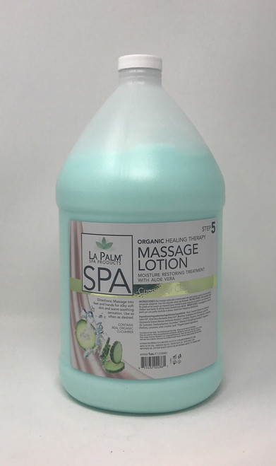 Organic Healing Therapy Massage Lotion | 1 Gal | Cucumber Cashmore