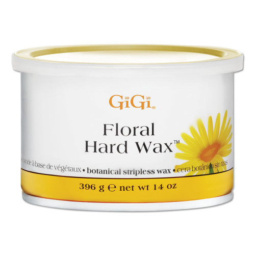 GiGI Floral Hard Wax | Botanical Stripless Wax | 14 oz