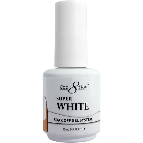 Cre8tion Soak-off Gel SUPER WHITE