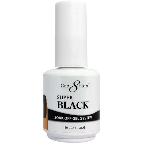 Cre8tion Soak-off Gel SUPER BLACK